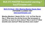 bus 372 master successful learning bus372master 3