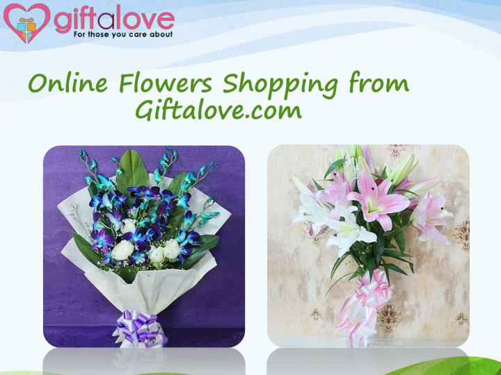 online flowers shopping from giftalove com n.