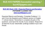 bus 405 papers successful learning bus405papers 15