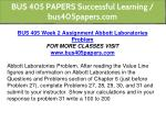 bus 405 papers successful learning bus405papers 6