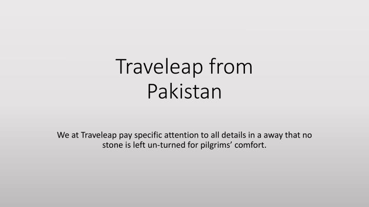 traveleap from pakistan n.
