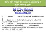 bus 434 help successful learning bus434help com 13