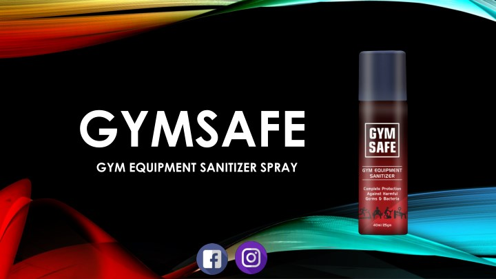 gymsafe gym equipment sanitizer spray n.