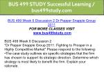 bus 499 study successful learning bus499study com 24