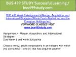 bus 499 study successful learning bus499study com 30