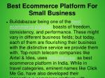 best ecommerce platform for small business 3