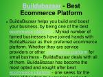 buildabazaar best ecommerce platform 1