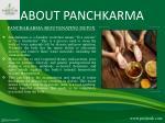 about panchkarma