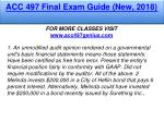 acc 497 final exam guide new 2018