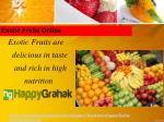 exotic fruits online