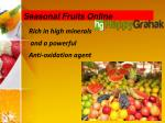 seasonal fruits online