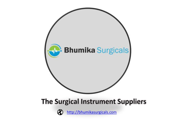 the surgical instrument suppliers n.
