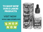 to shop now our e liquid products