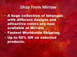 shop from mirraw