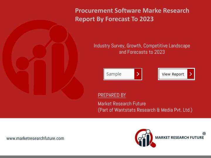 procurement software marke research report n.