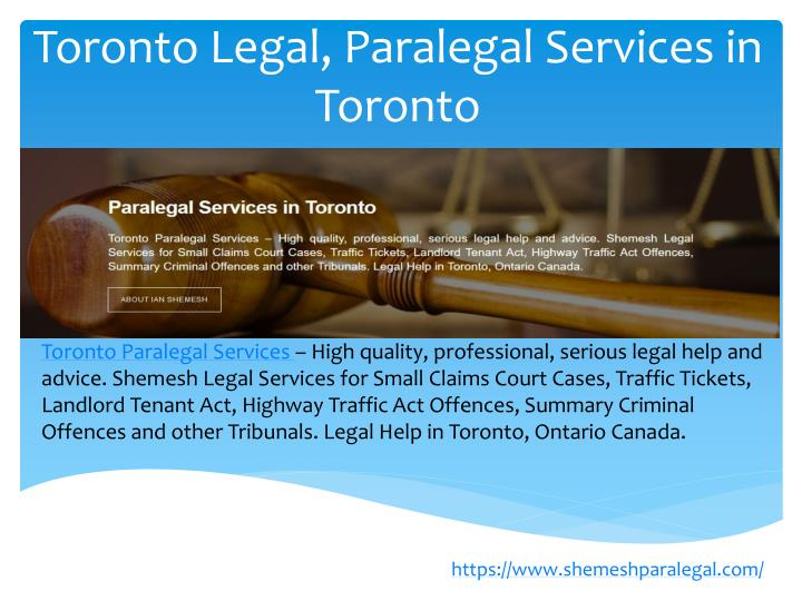 toronto legal paralegal services in toronto n.