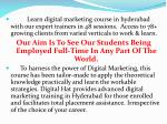 learn digital marketing course in hyderabad with