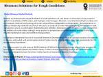 bitumen solutions for tough conditions