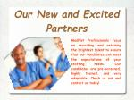 our new and excited partners