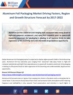 aluminum foil packaging market driving factors