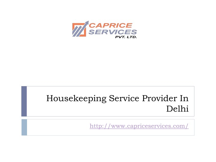 housekeeping service provider in n.