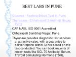 best labs in pune