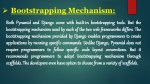 bootstrapping mechanism