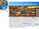how to download scr888 application