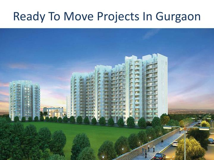 ready to move projects in gurgaon n.