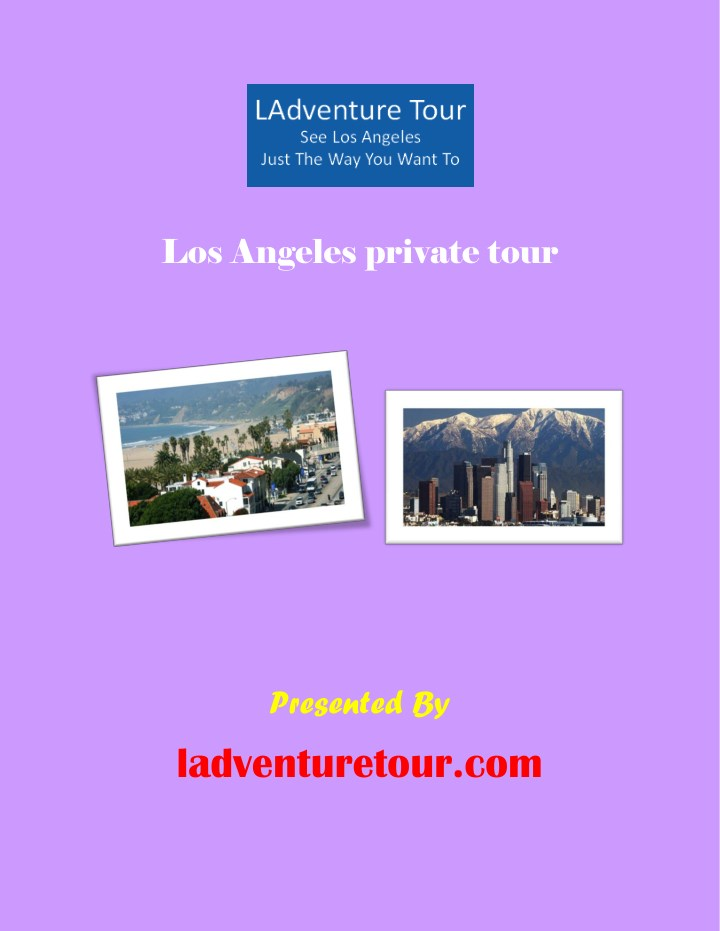 los angeles private tour n.