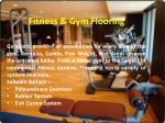fitness gym flooring