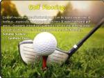 golf flooring