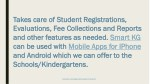 takes care of student registrations takes care