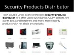 security products distributor 1