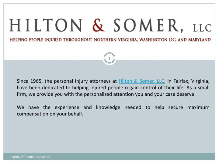 since 1965 the personal injury attorneys n.