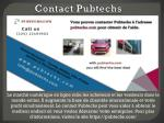 contact pubtechs