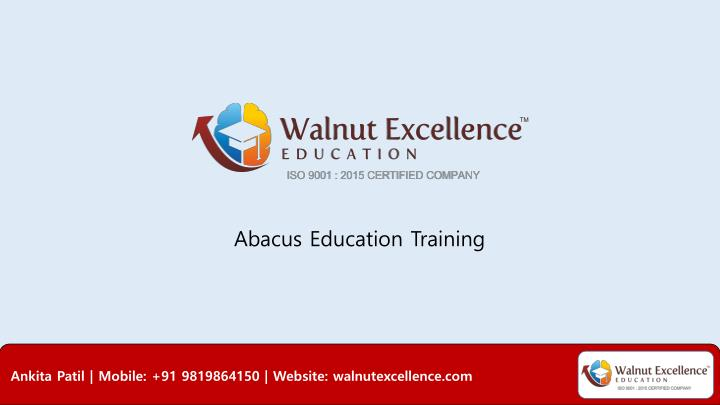 abacus education training n.