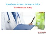 healthcare support services in india