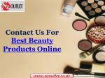 contact us for best beauty products online