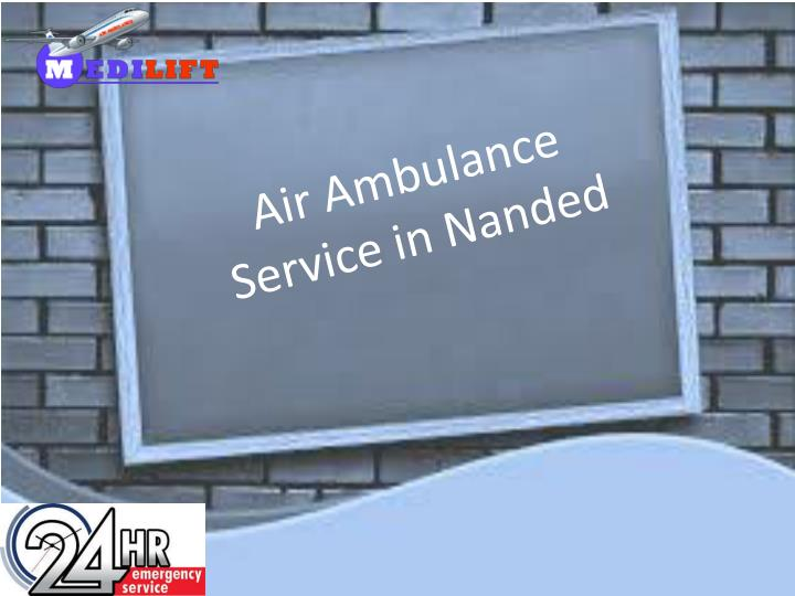 air ambulance service in nanded n.