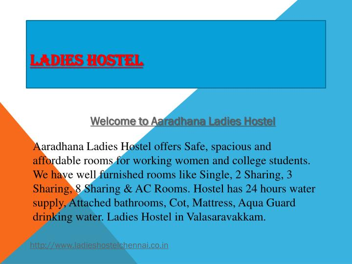 ladies hostel n.