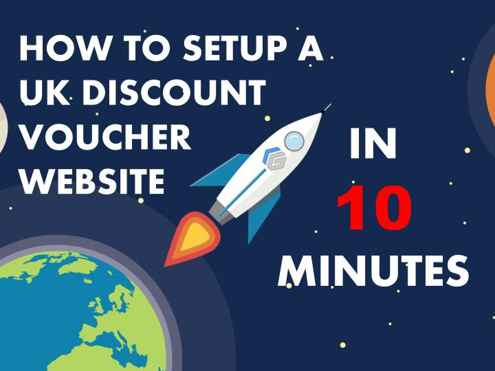 how to setup a uk discount voucher website n.