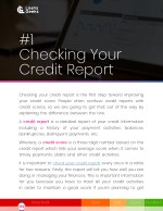 1 checking your credit report