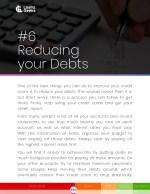 6 reducing your debts