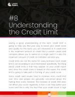 8 understanding the credit limit