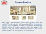 european european furniture
