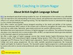 ielts coaching in uttam nagar