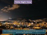 tbilisi is a beautiful city with great view night
