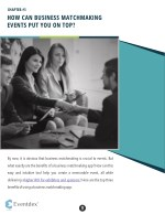 chapter 3 how can business matchmaking events