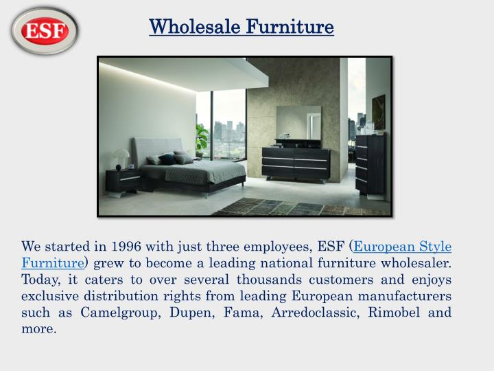 wholesale furniture n.